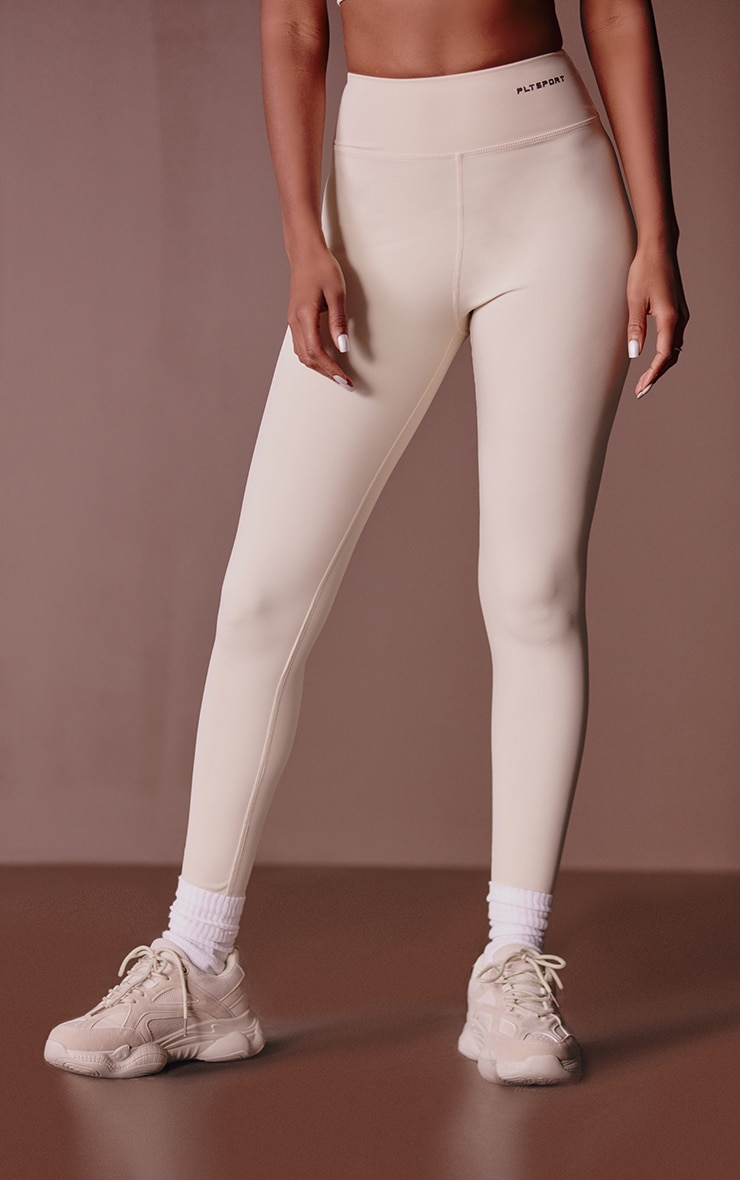 PRETTYLITTLETHING Sand Sculpt Luxe Gym Leggings 2