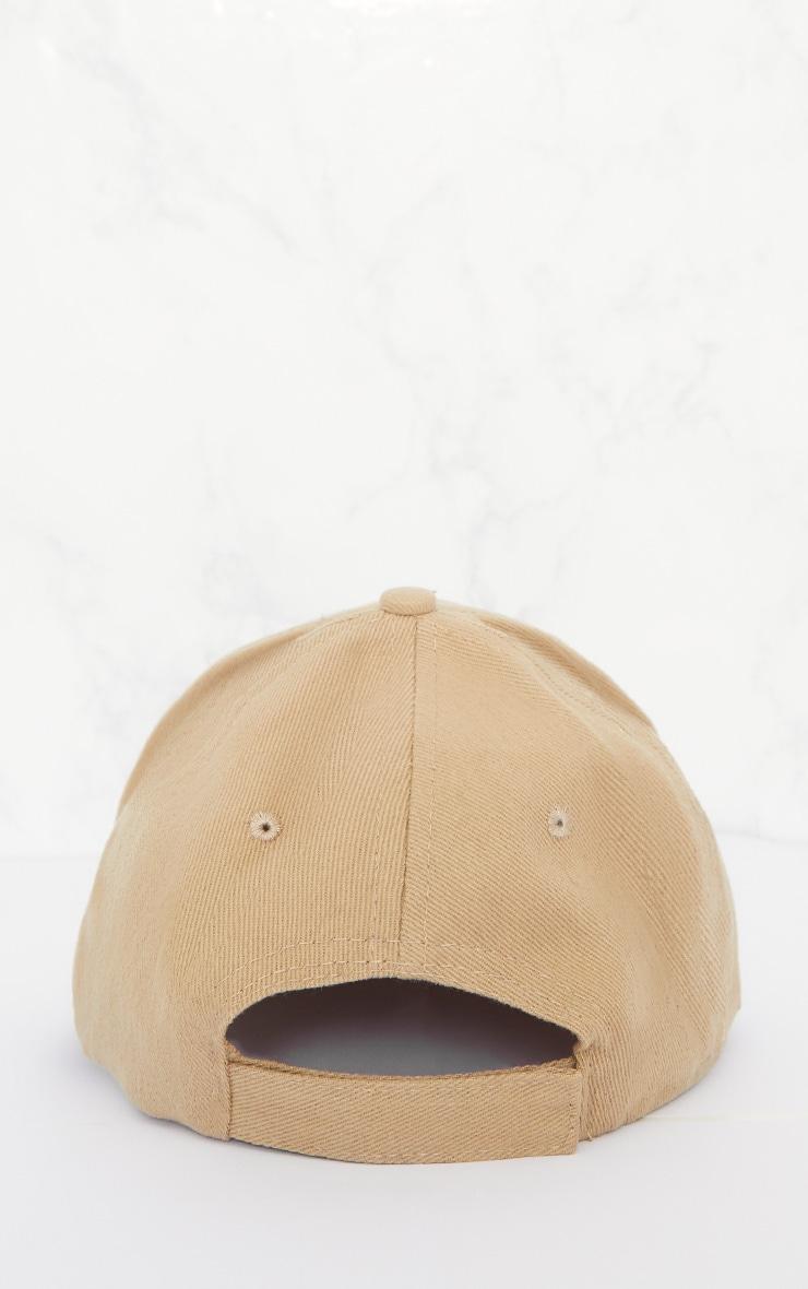 Olive Woven Baseball Cap 4
