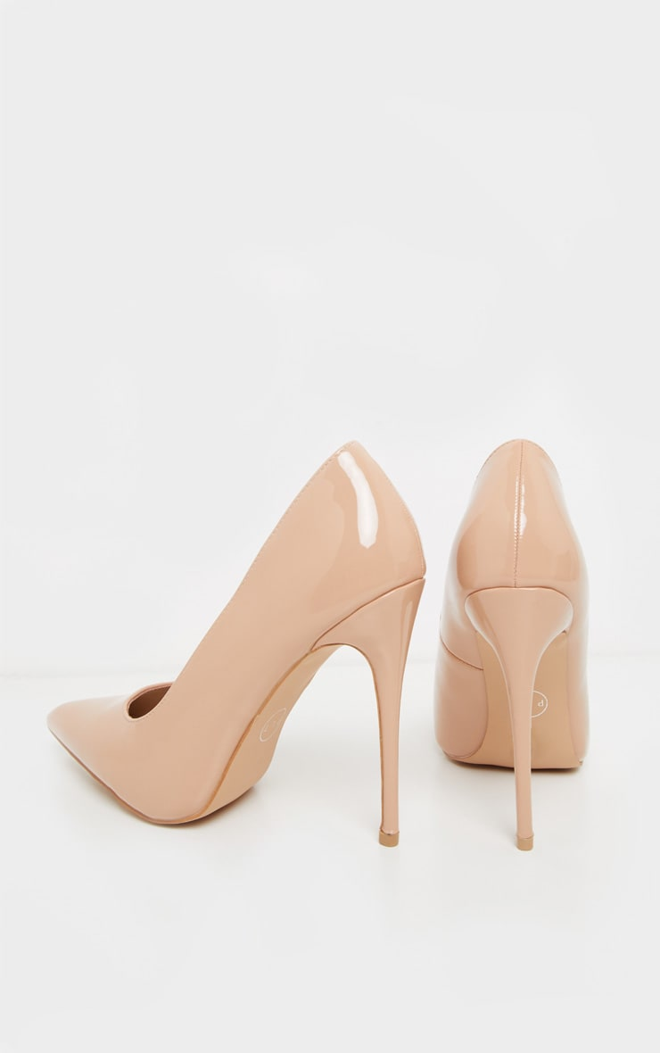 Light Nude Court Shoes 4