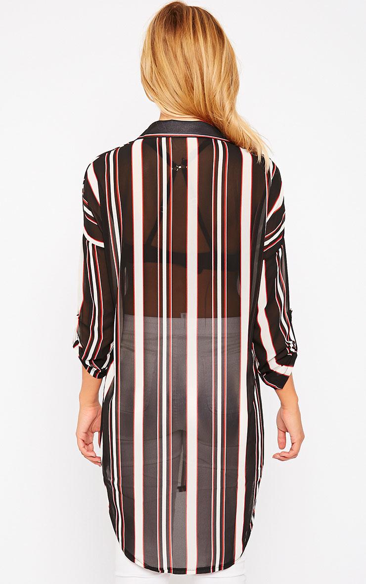 Zadia Stripe Shirt 2