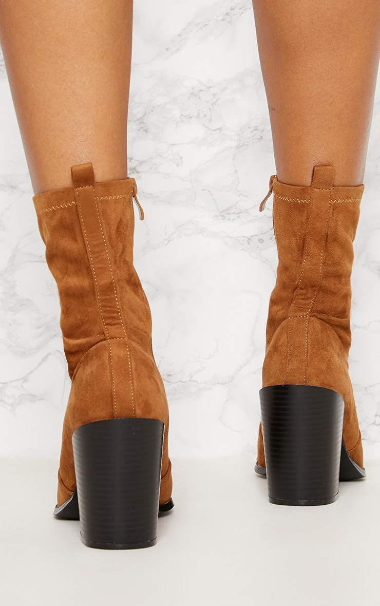 Danica Stone Western Sock Boots 4