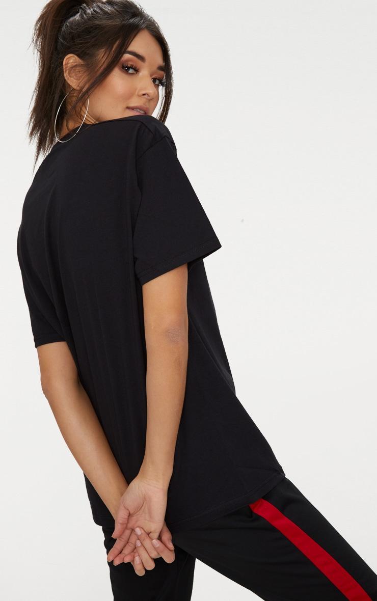 Black & White 2 Pack Ultimate Oversized T Shirt  7