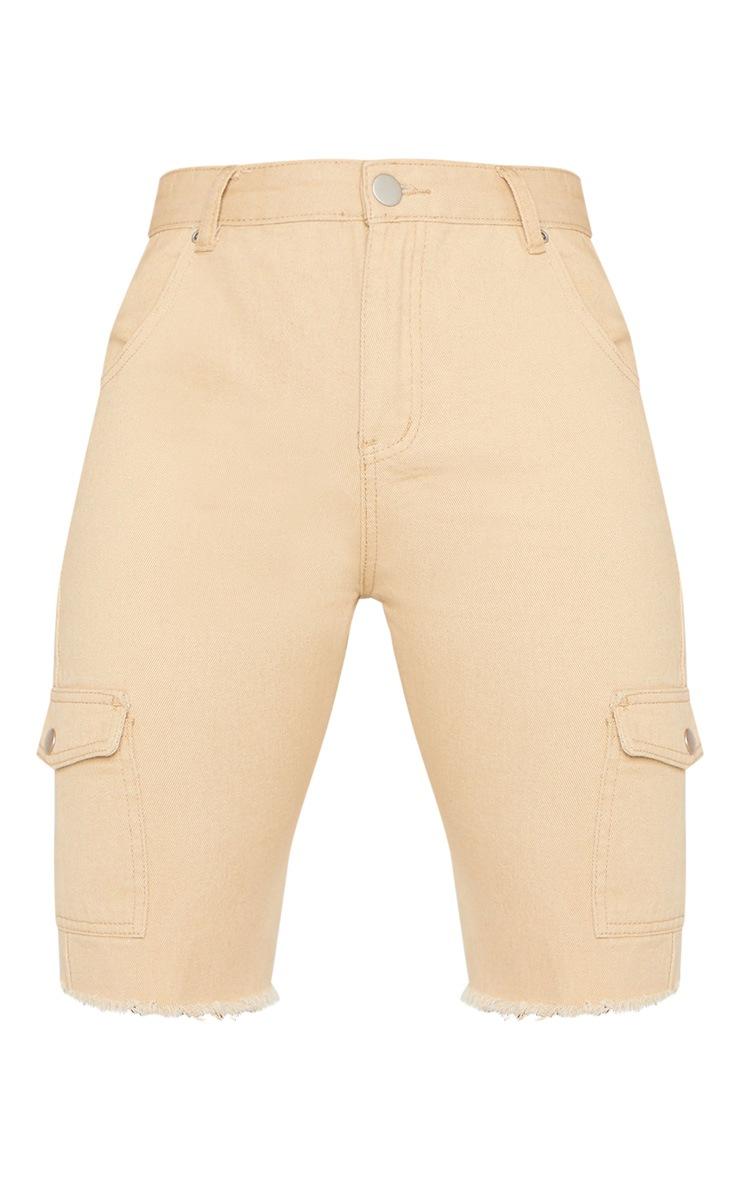 Stone Cargo Pocket Shorts  3