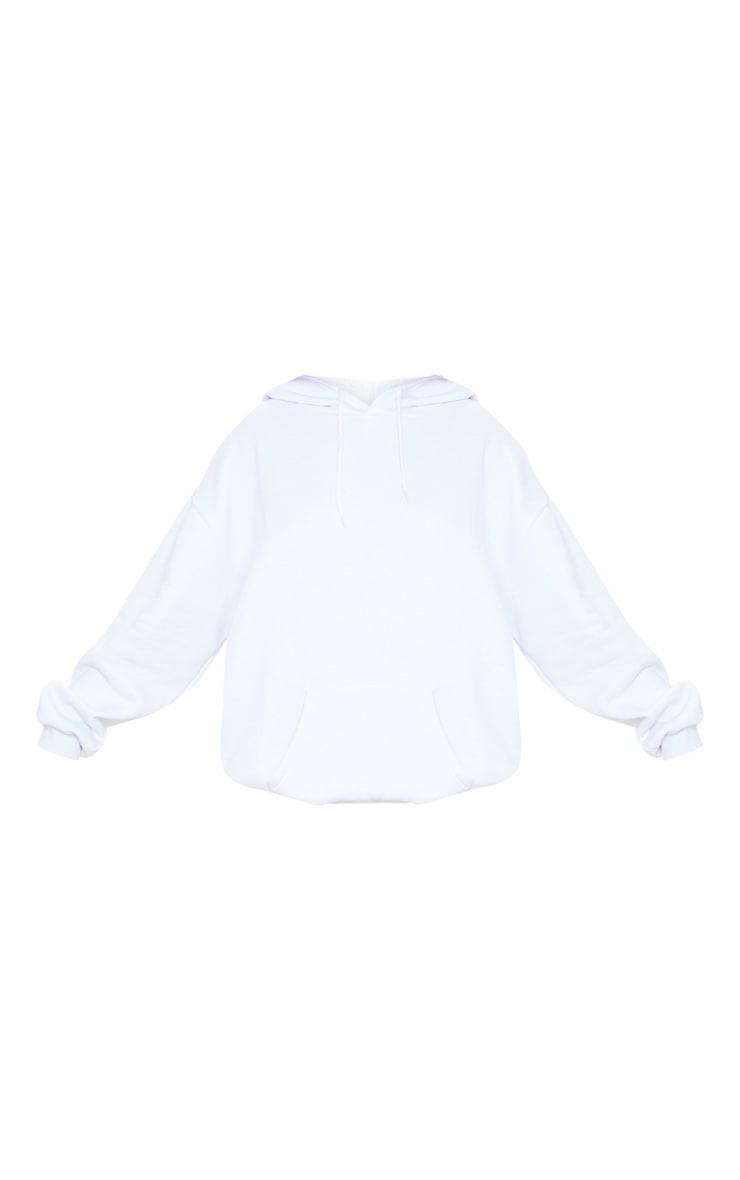 Hoodie oversize blanc classique 3