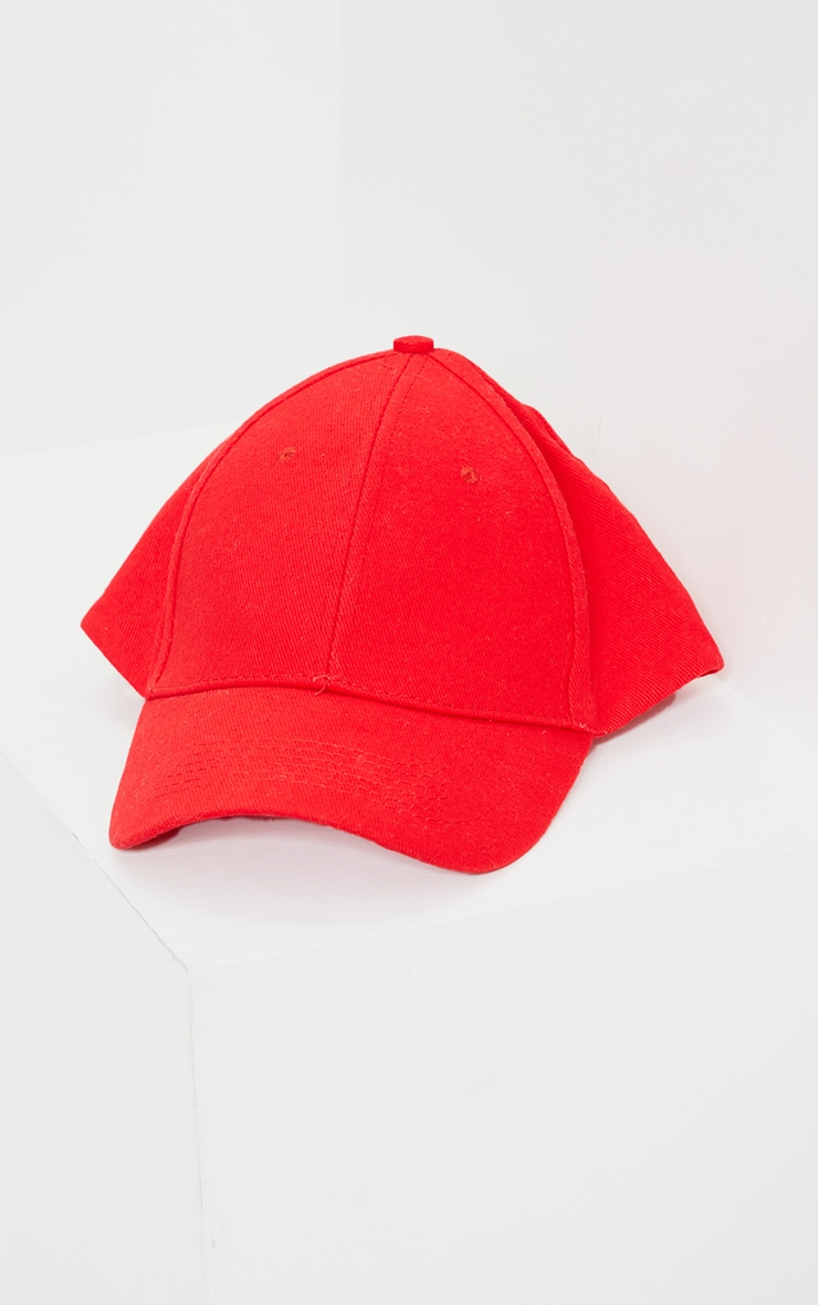 Red Baseball Cap 2
