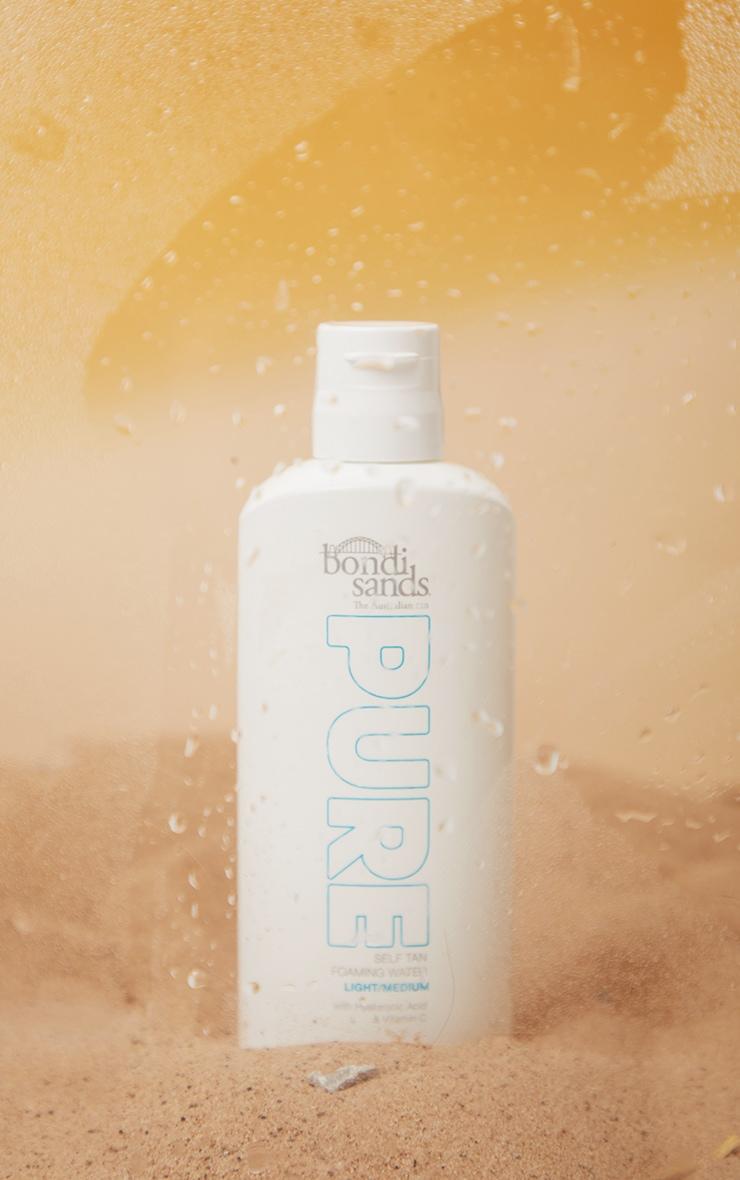 Bondi Sands Pure Self Tan Foaming Water Light/Medium 200ml 3