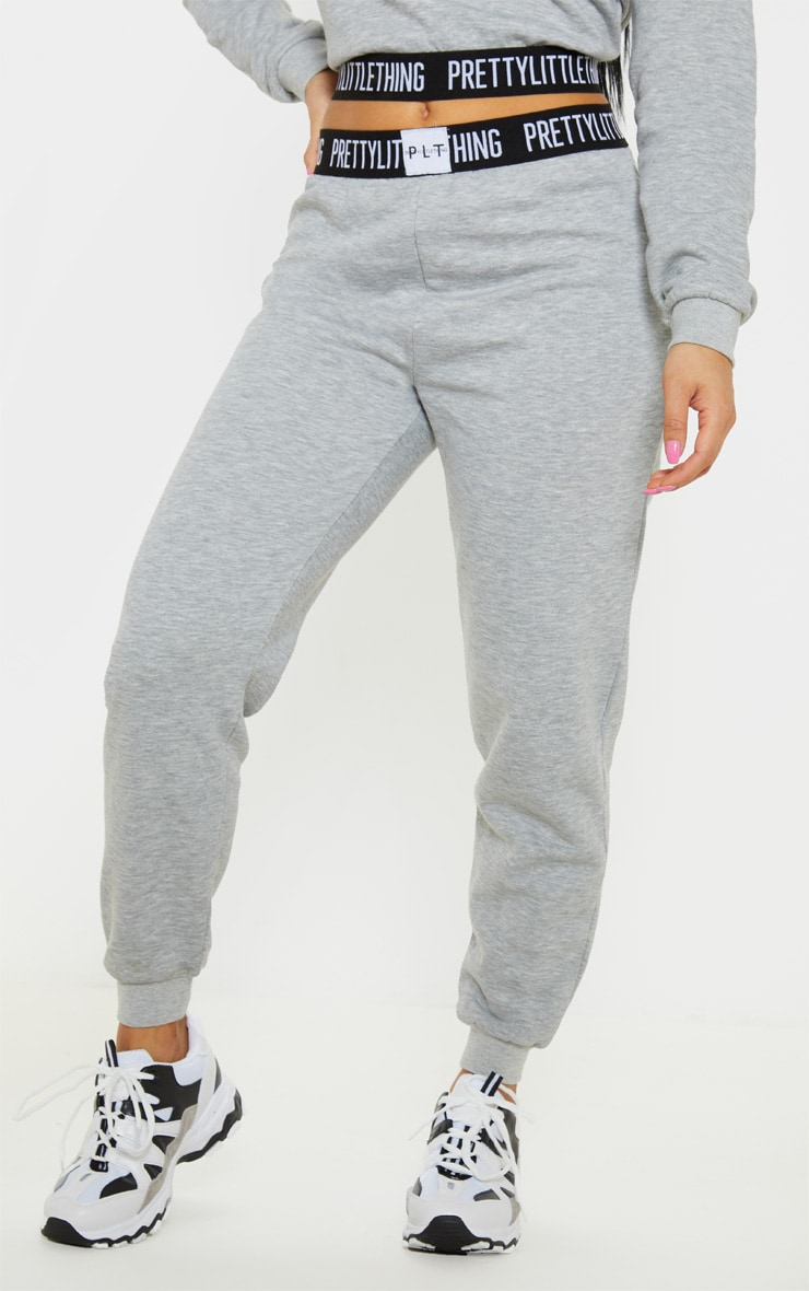 PRETTYLITTLETHING Petite Grey Lounge Jogger 2