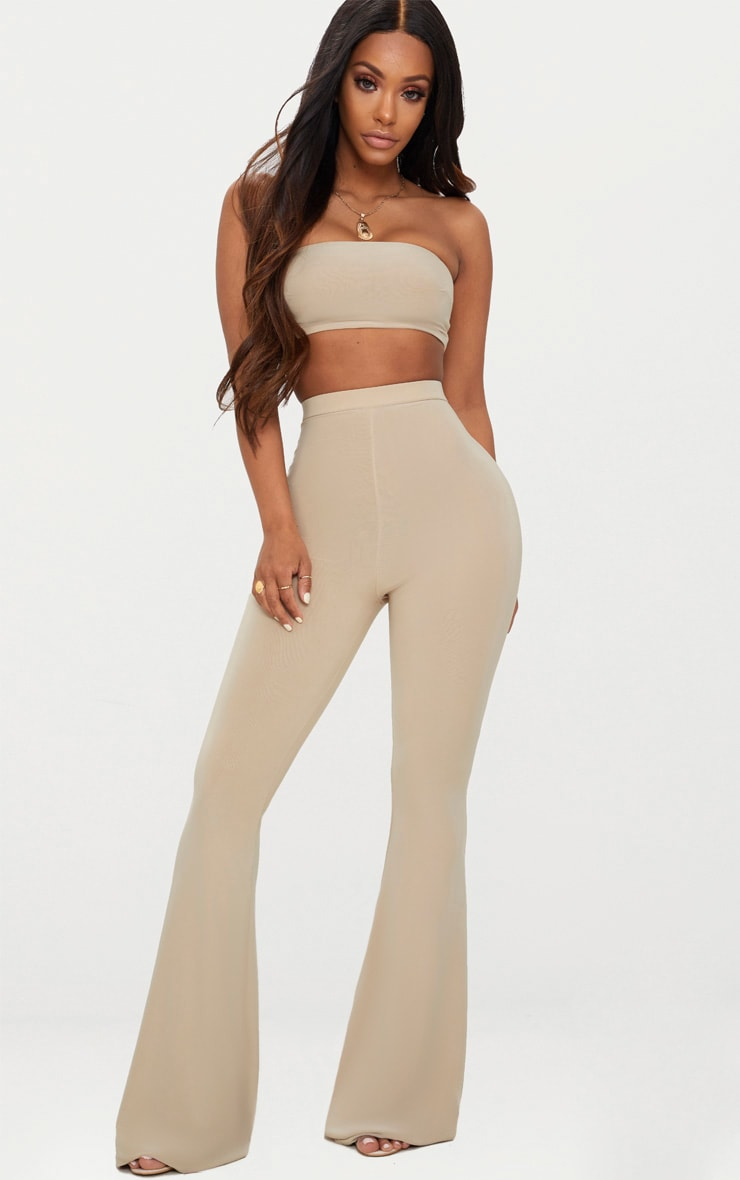 Shape Stone Slinky Flared Pants 1