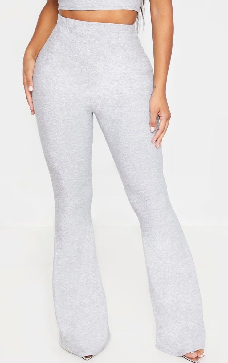 Shape Silver Glitter Flared Trouser 2