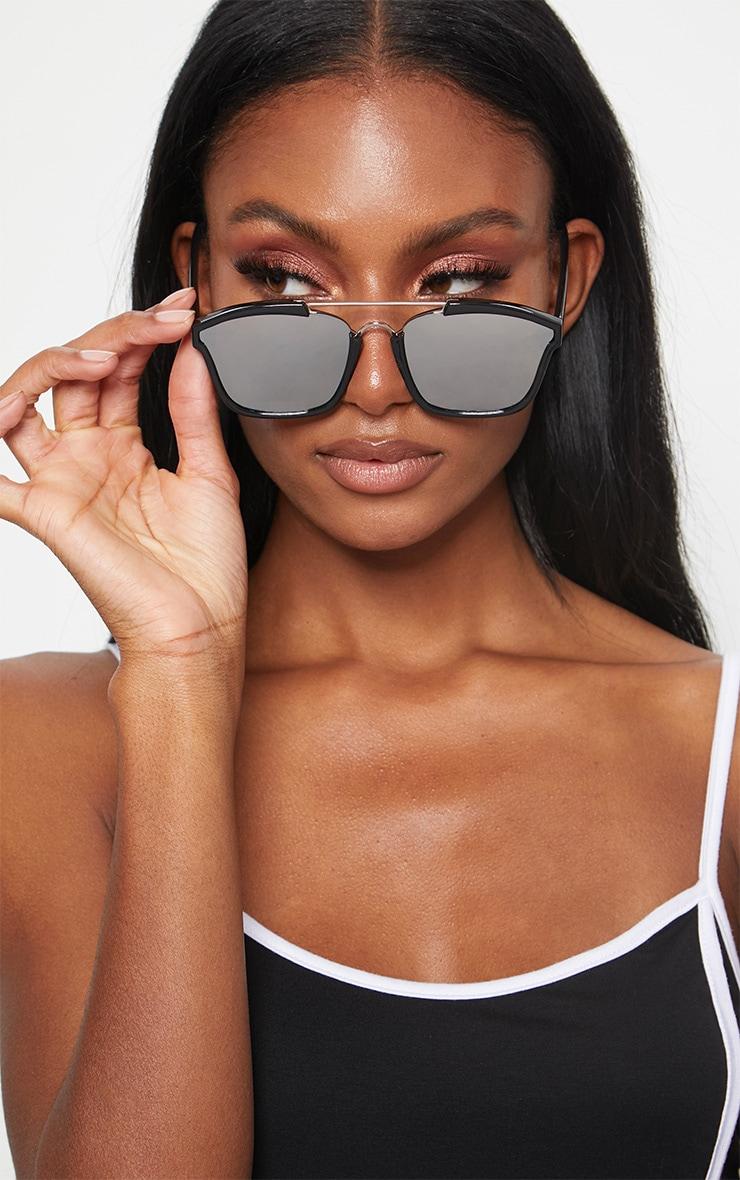 Black Brow Bar Sunglasses 2