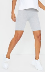 Black and Grey Basic Jersey 2 Pack Cycle Shorts 2