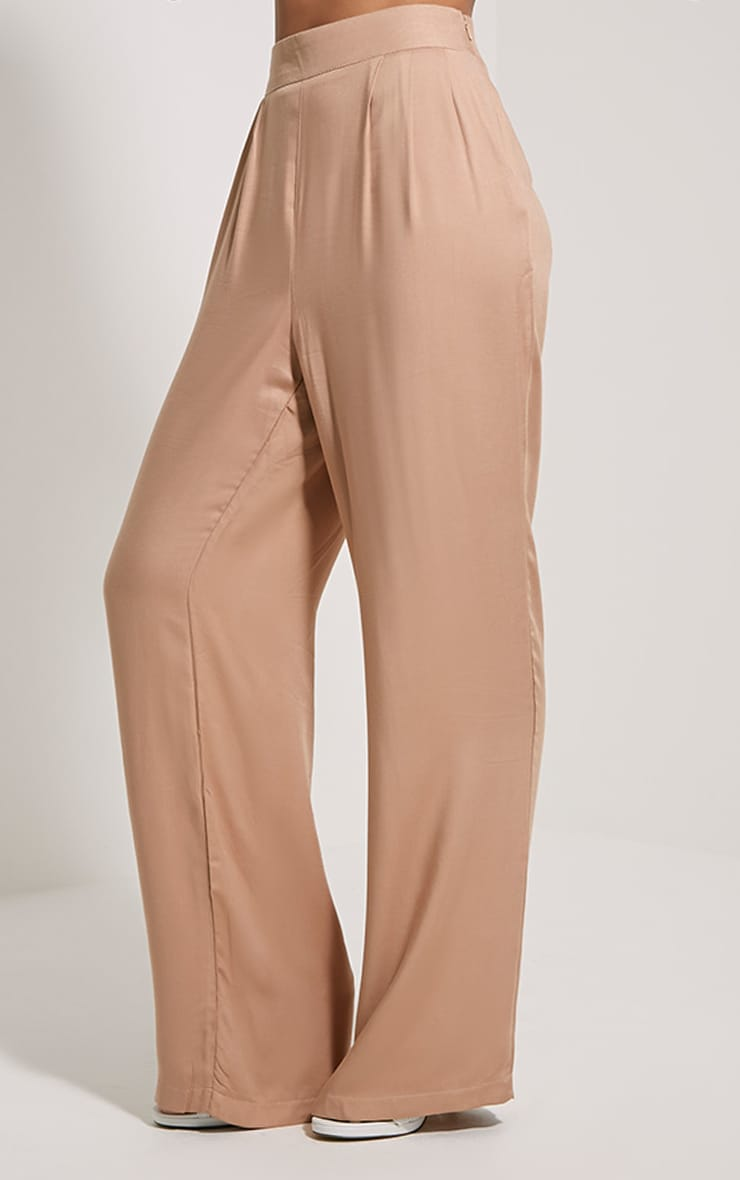 Posey Tan Relax Fit Trousers 3
