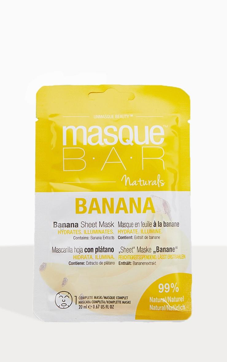 MasqueBAR Naturals Banana Sheet Mask 2