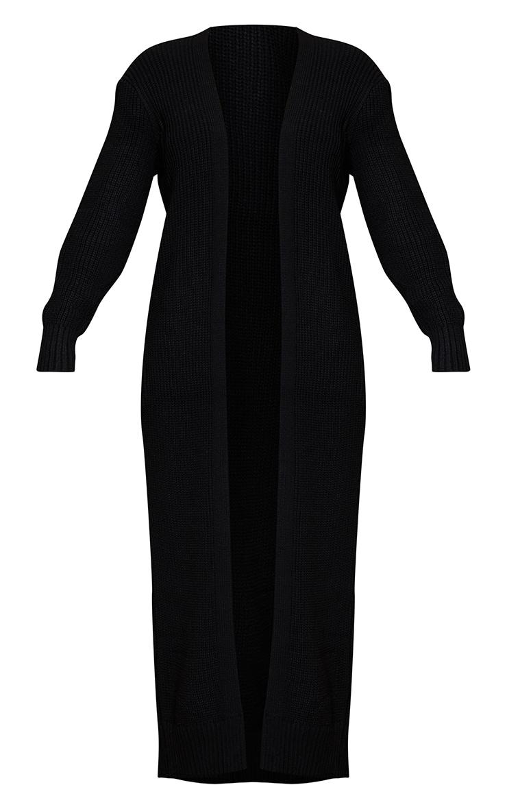 Cardigan long noir 5
