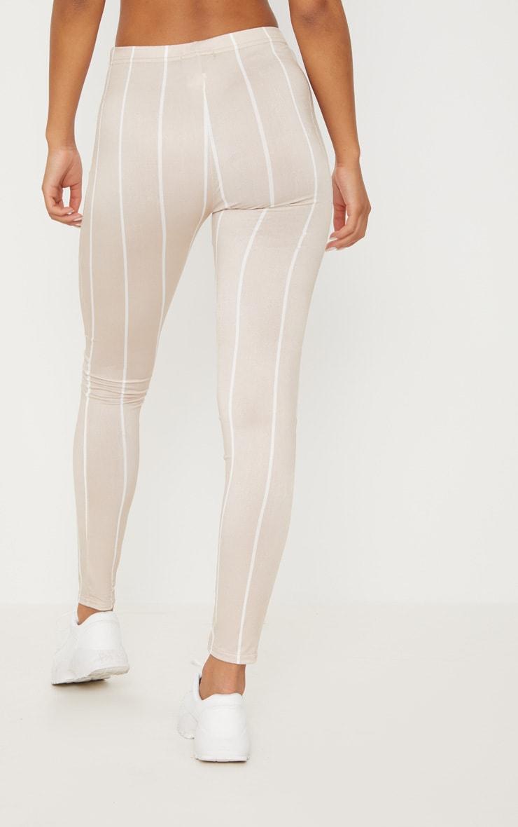 Nude Slinky Stripe Legging 4