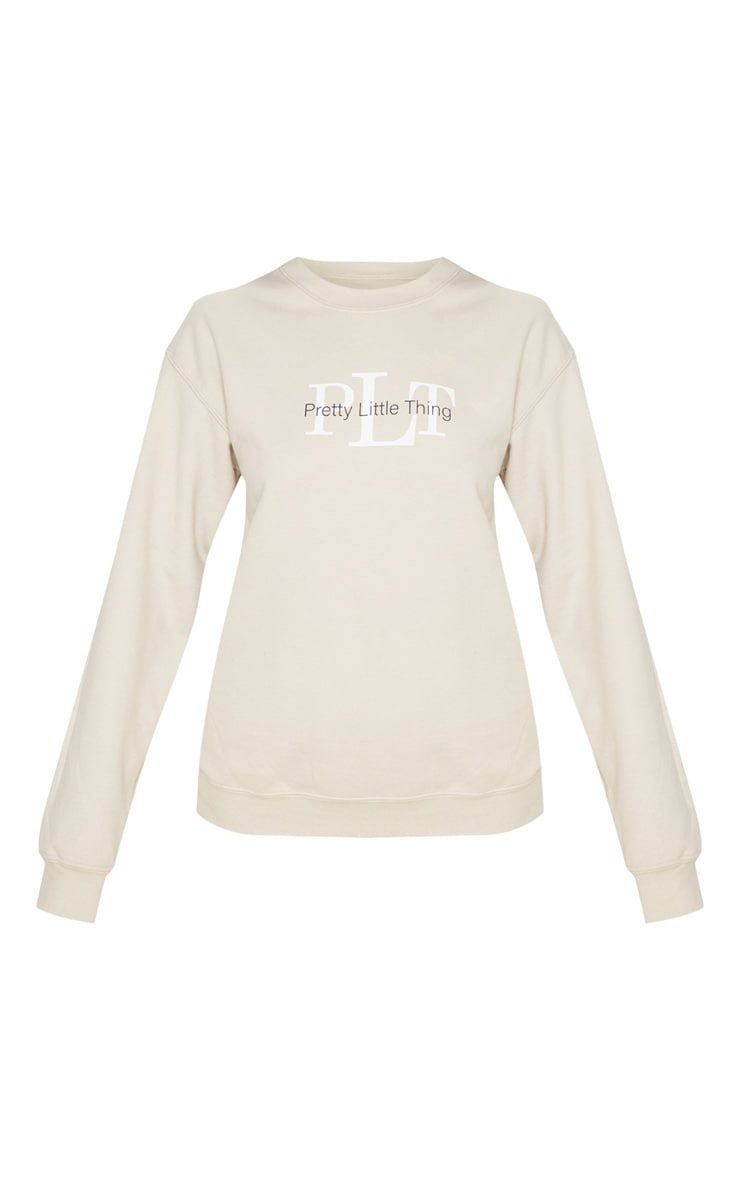 PRETTYLITTLETHING Sweat sable  3