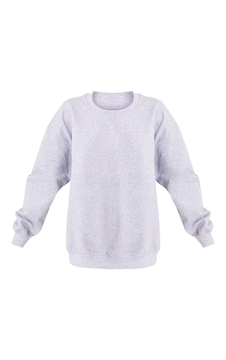 Grey Marl Ultimate Oversized Sweater 3