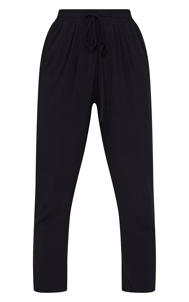 Petite Black Casual Trousers 5