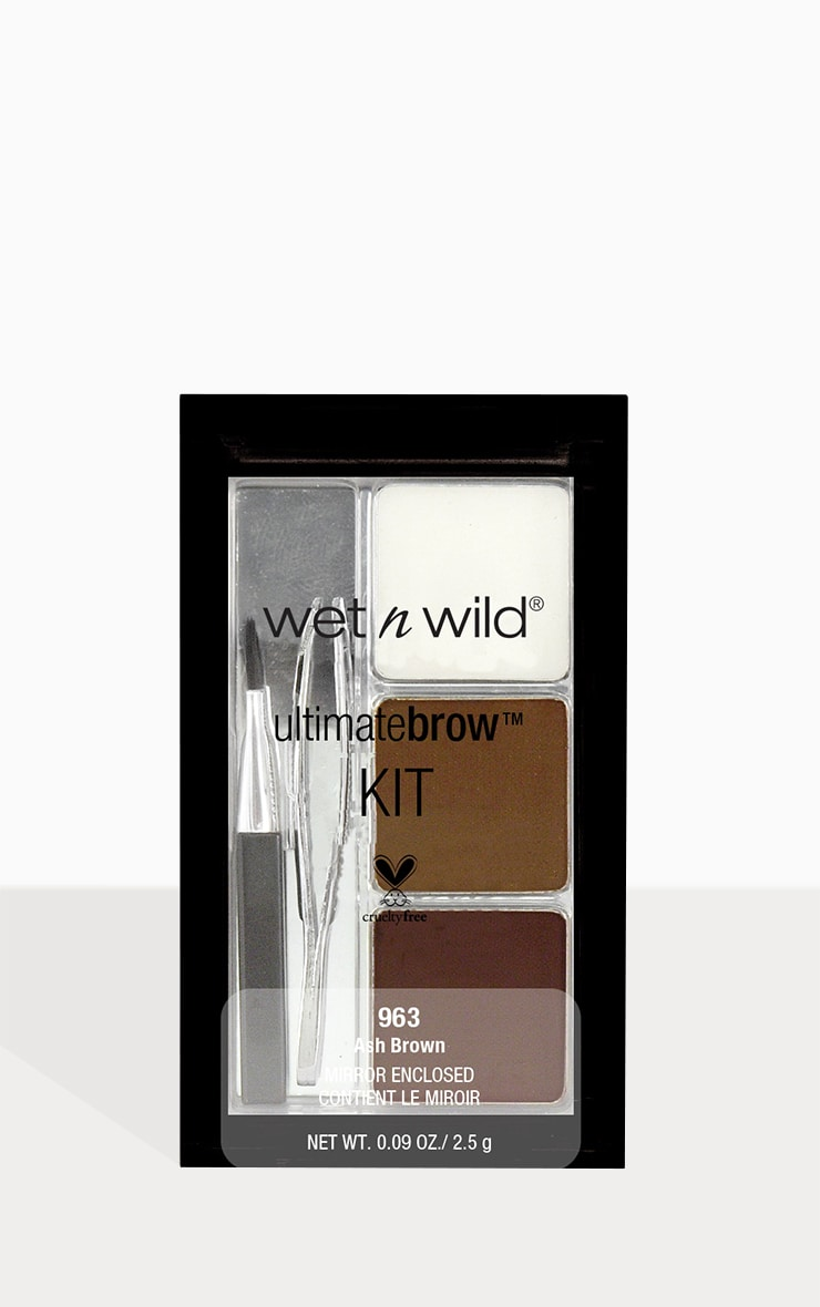 wet n wild Ultimate Brow Kit Ash Brown 1