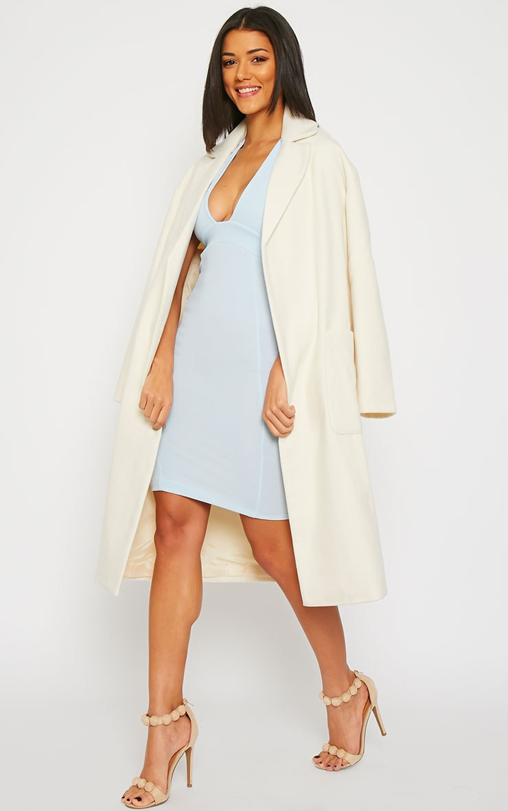 Trisha Cream Long Coat 3