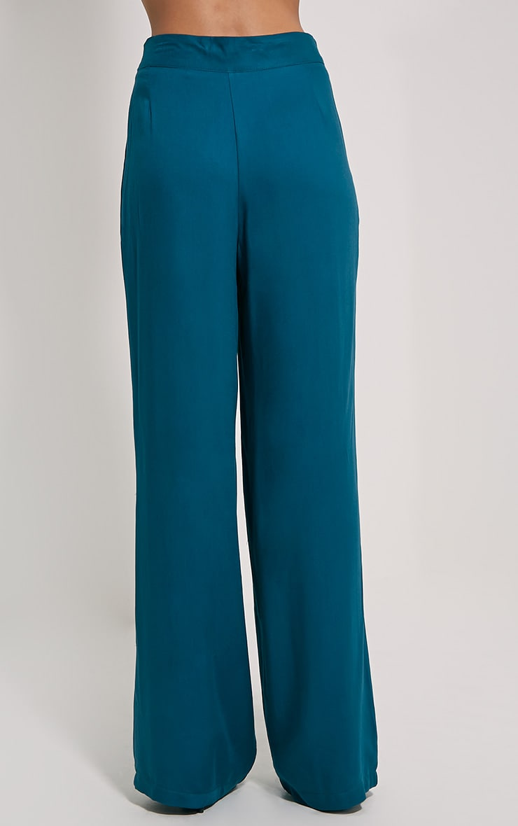 Posey Teal Relax Fix Trousers 4