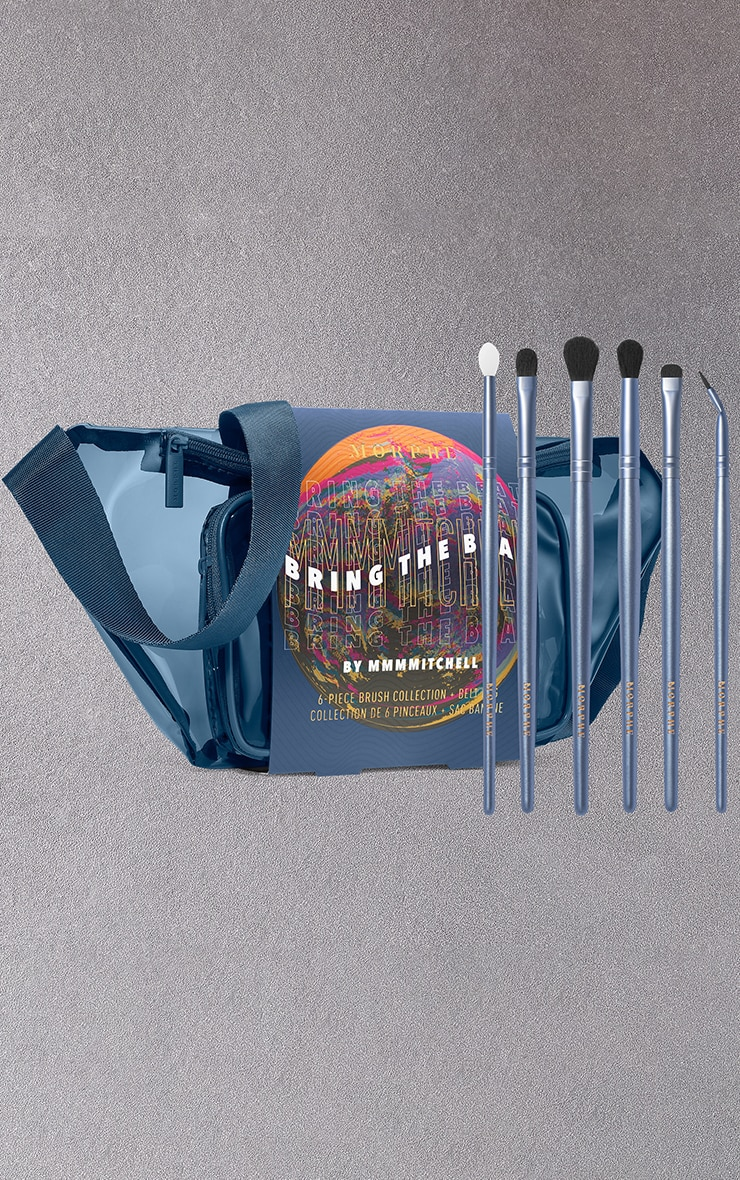 Morphe Bring The Beat MMMMitchell 6 Piece Brush Collection and Belt Bag 1