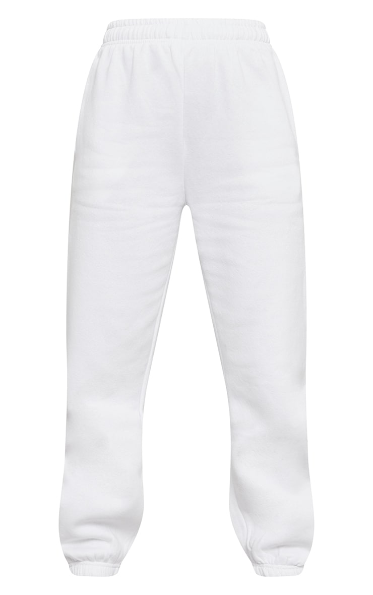 White Sweat Pant Joggers 5