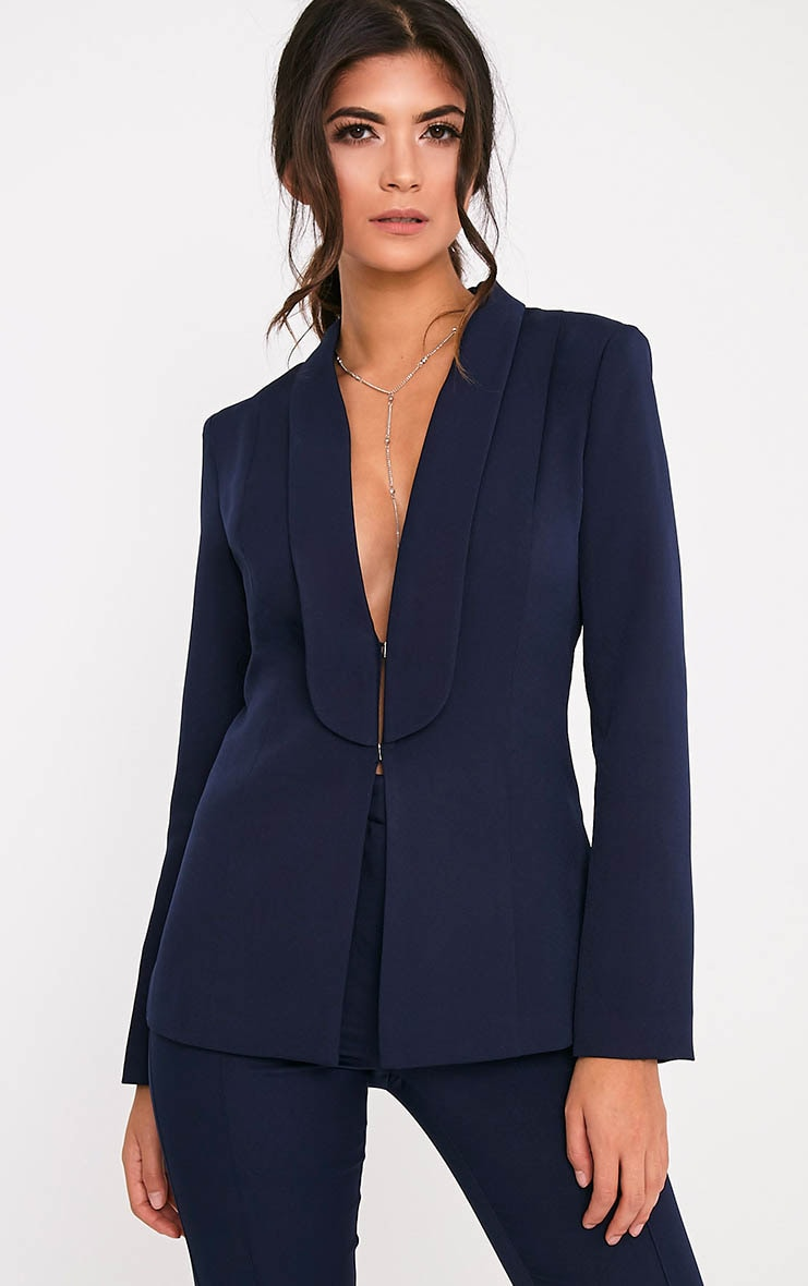 Avani Navy Suit Jacket 1
