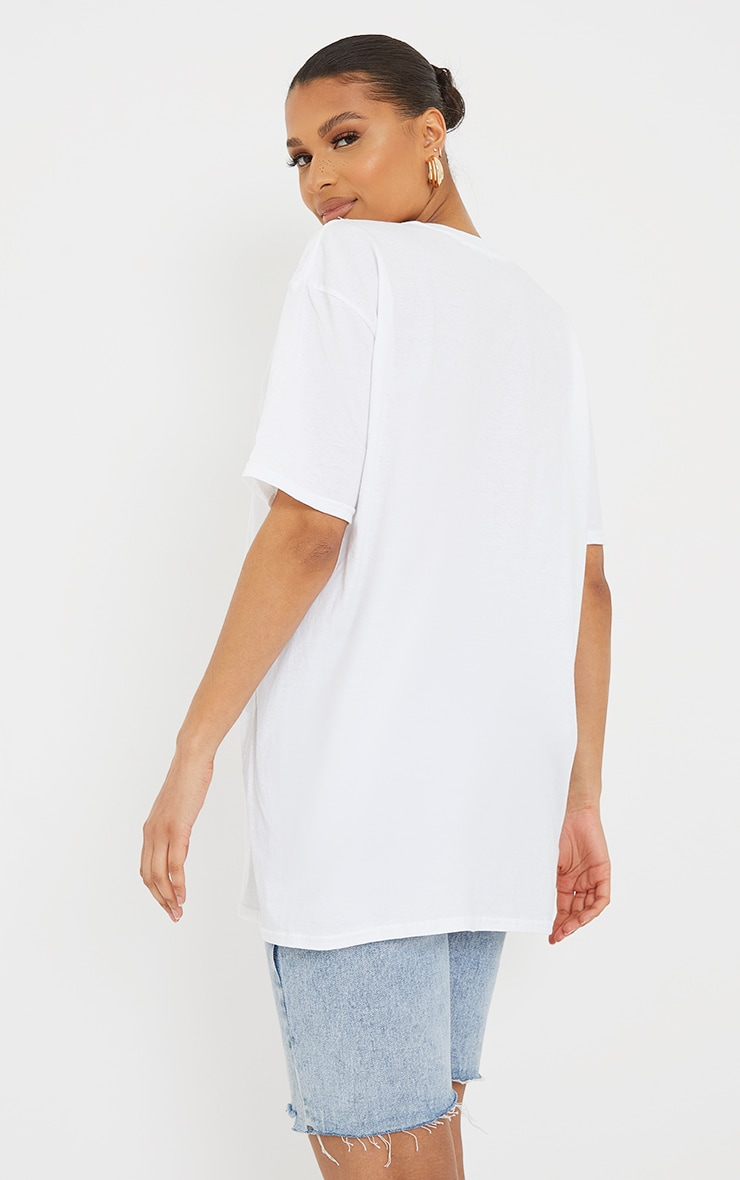 White Relaxation Since 1976 Printed T Shirt 2