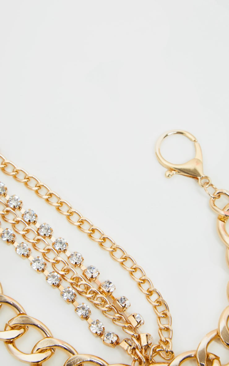 Gold Layered Chain Belt 2