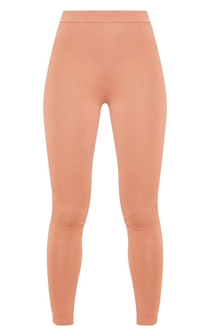 Chestnut Ruched Back Jersey Legging 3