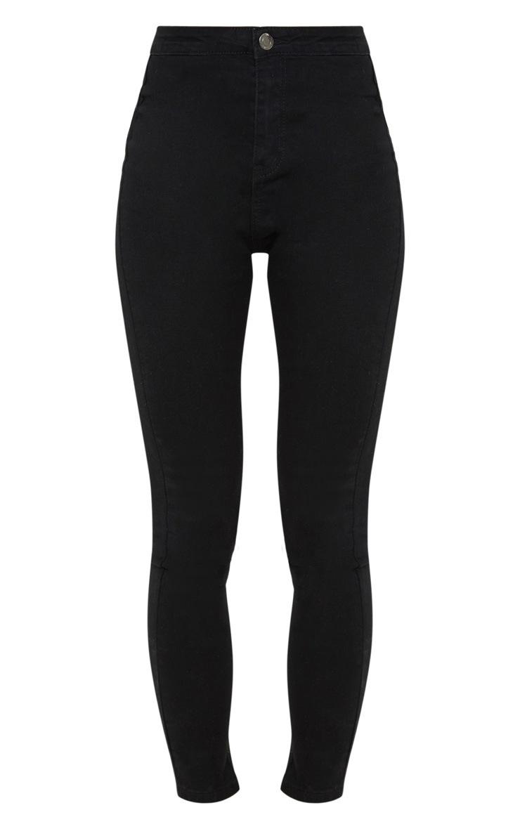 Black Disco Fit Skinny Jean  3