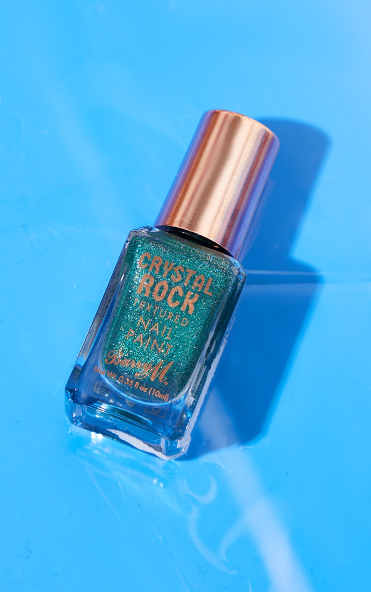 Barry M Crystal Rock Nail Paint Emerald Green 2