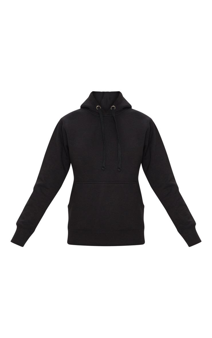 Basic Black  Hoodie 5