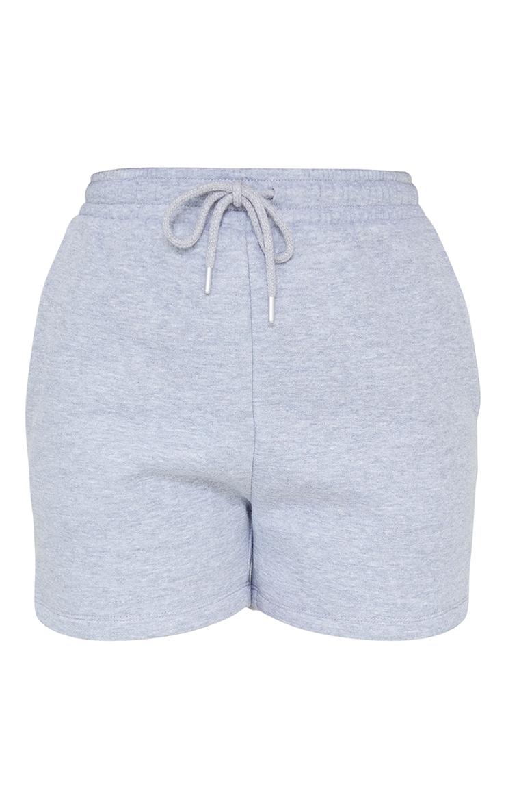 Petite Grey Sweat Short 1