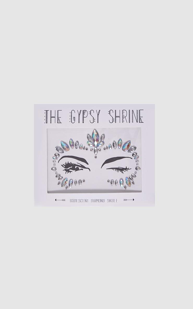 The Gypsy Shrine Iridescent Skull Face Jewels 2