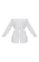 ef17288b2e69 Kennie White Stripe Playsuit image 3