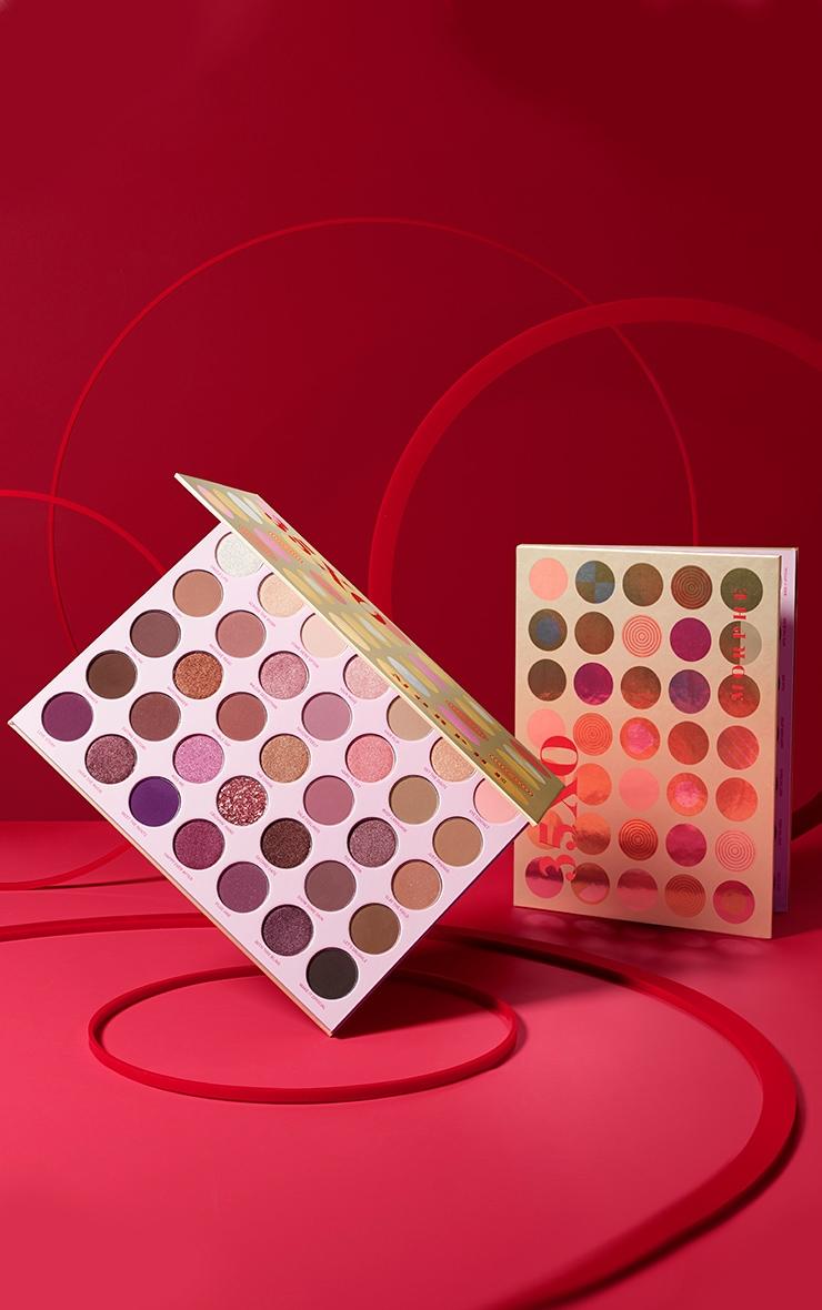 Morphe 35XO Natural Flirt Artistry Eyeshadow Palette 1