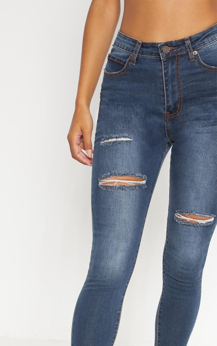 9a6b109268 Dirty Vintage Distressed Skinny Jean