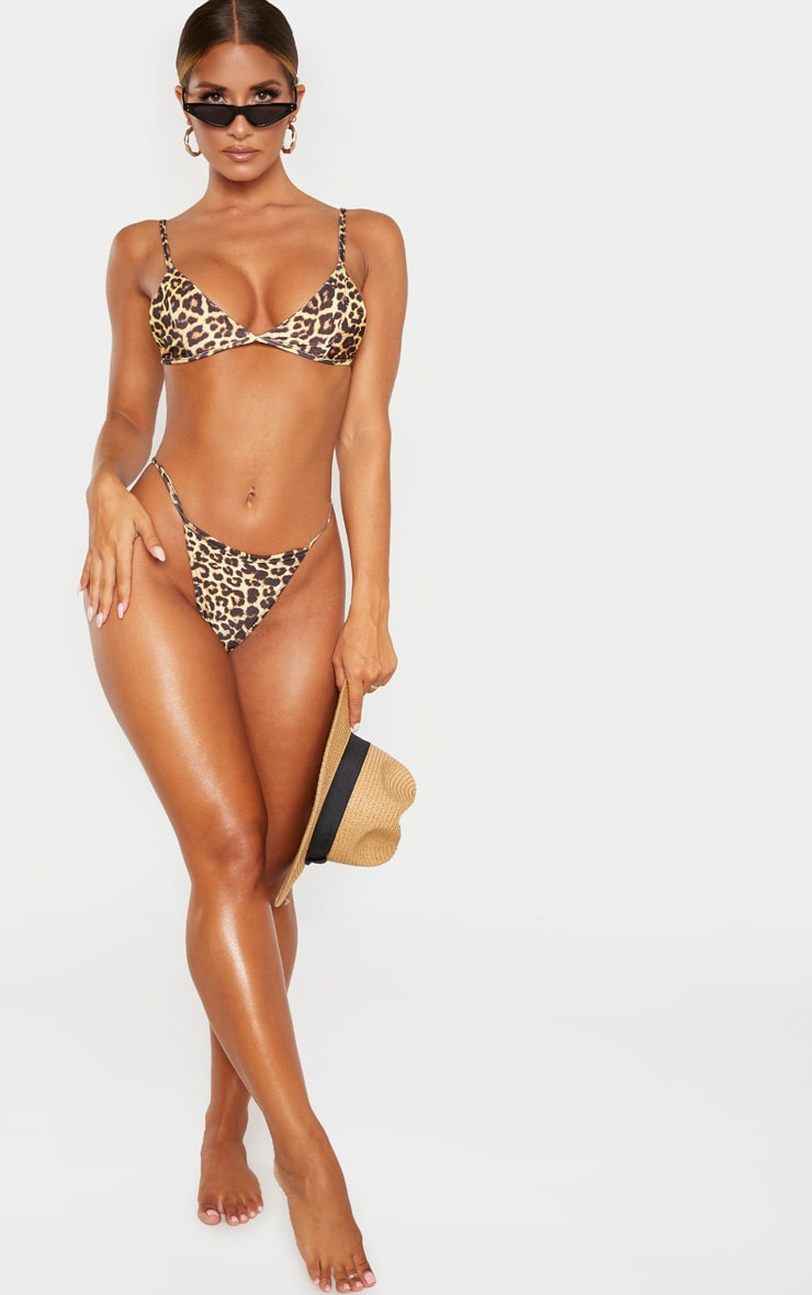 Leopard Mix & Match Itsy Bitsy Bikini Top 4