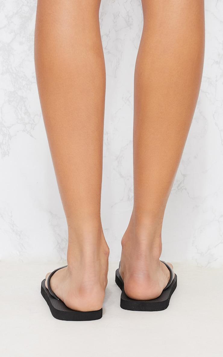 Black & White Flip Flops 2 Pack 9