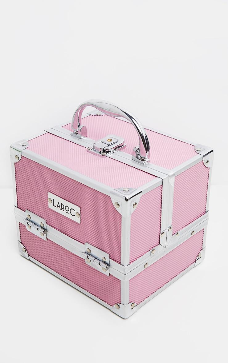 Pink Makeup Train Case 1