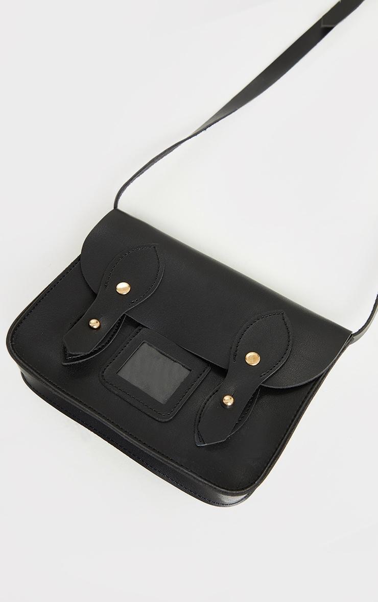 Mini sac à bandoulière noir 1