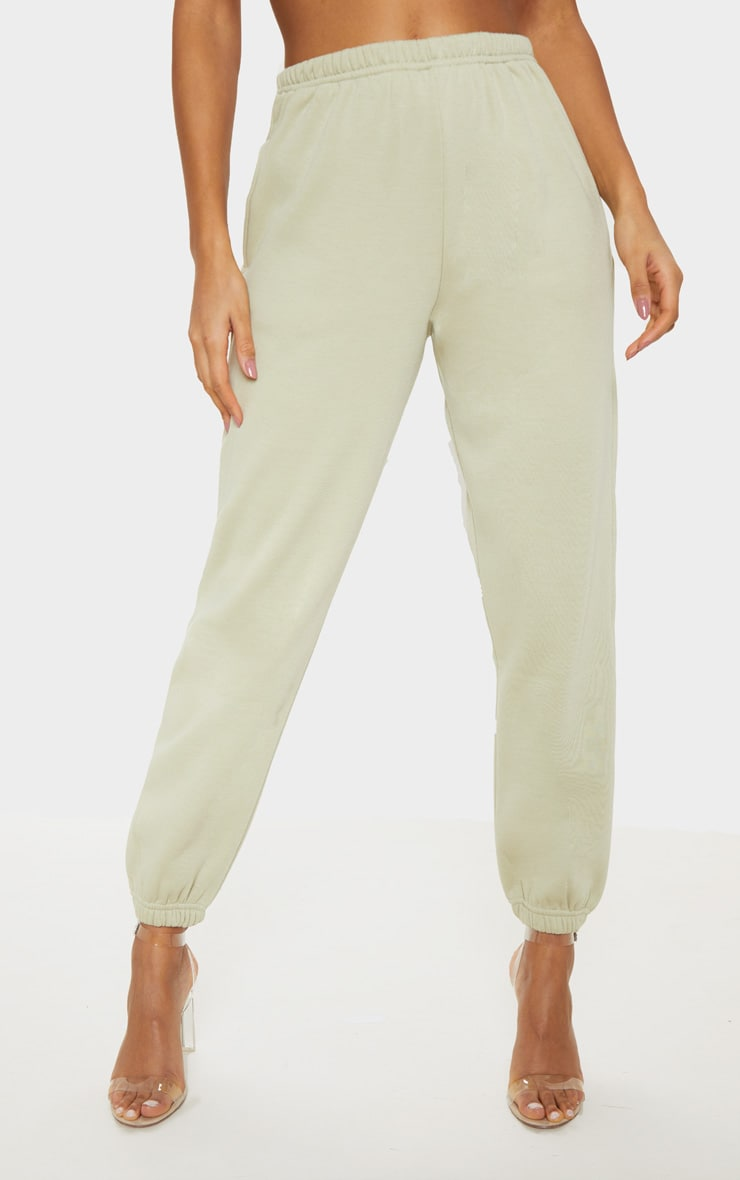 Pale Olive Casual Jogger 2