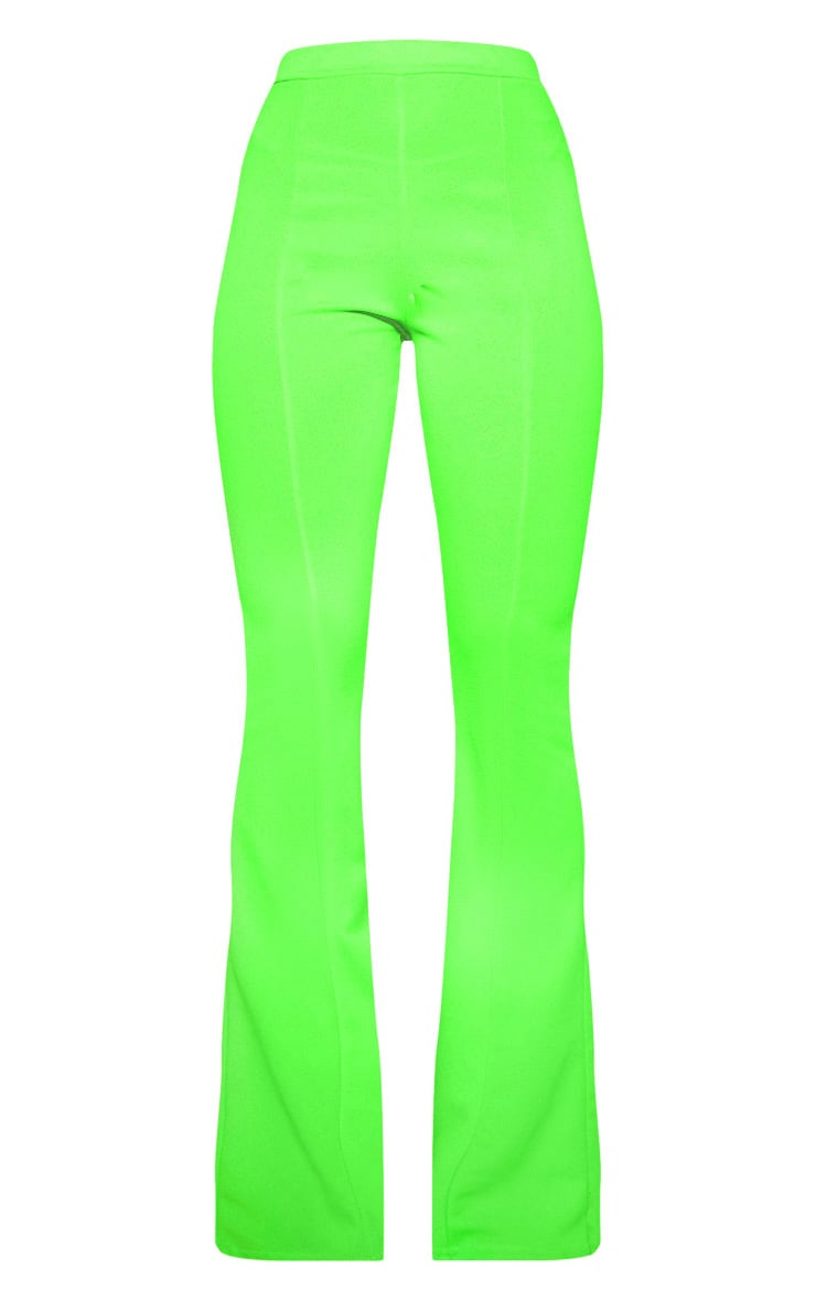 Lime Flared Trouser  3
