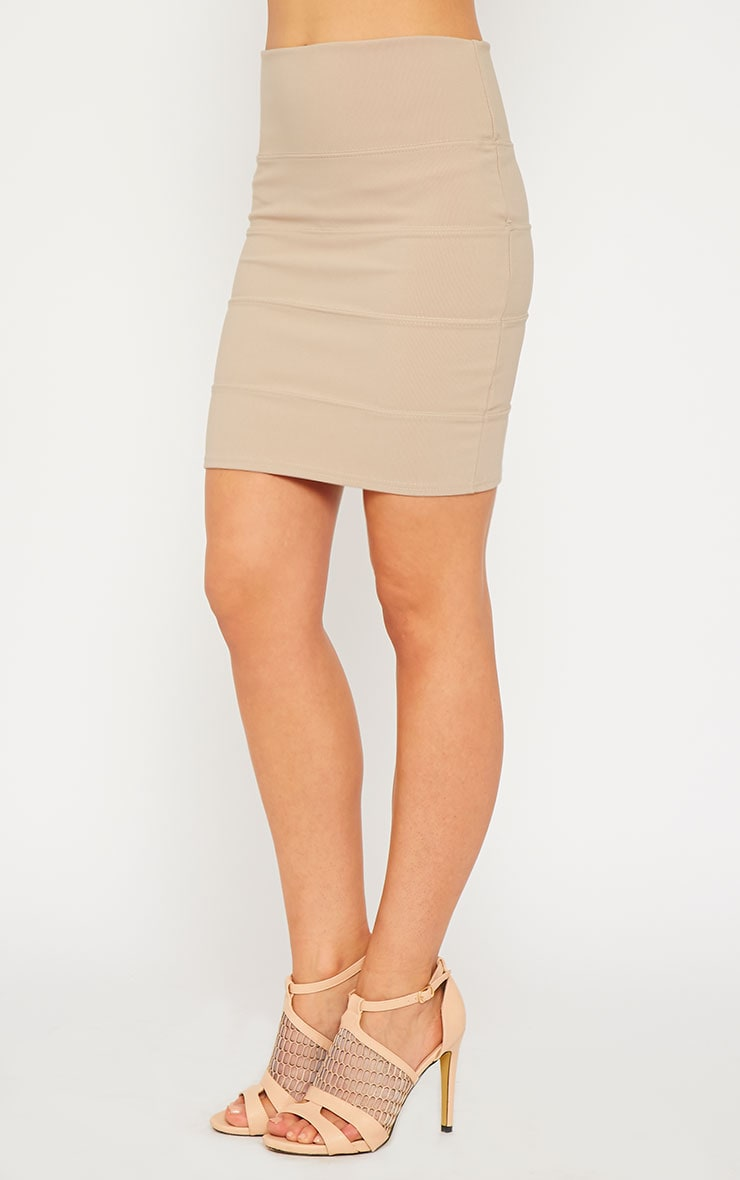 Anel Stone Bandage Mini Skirt  3