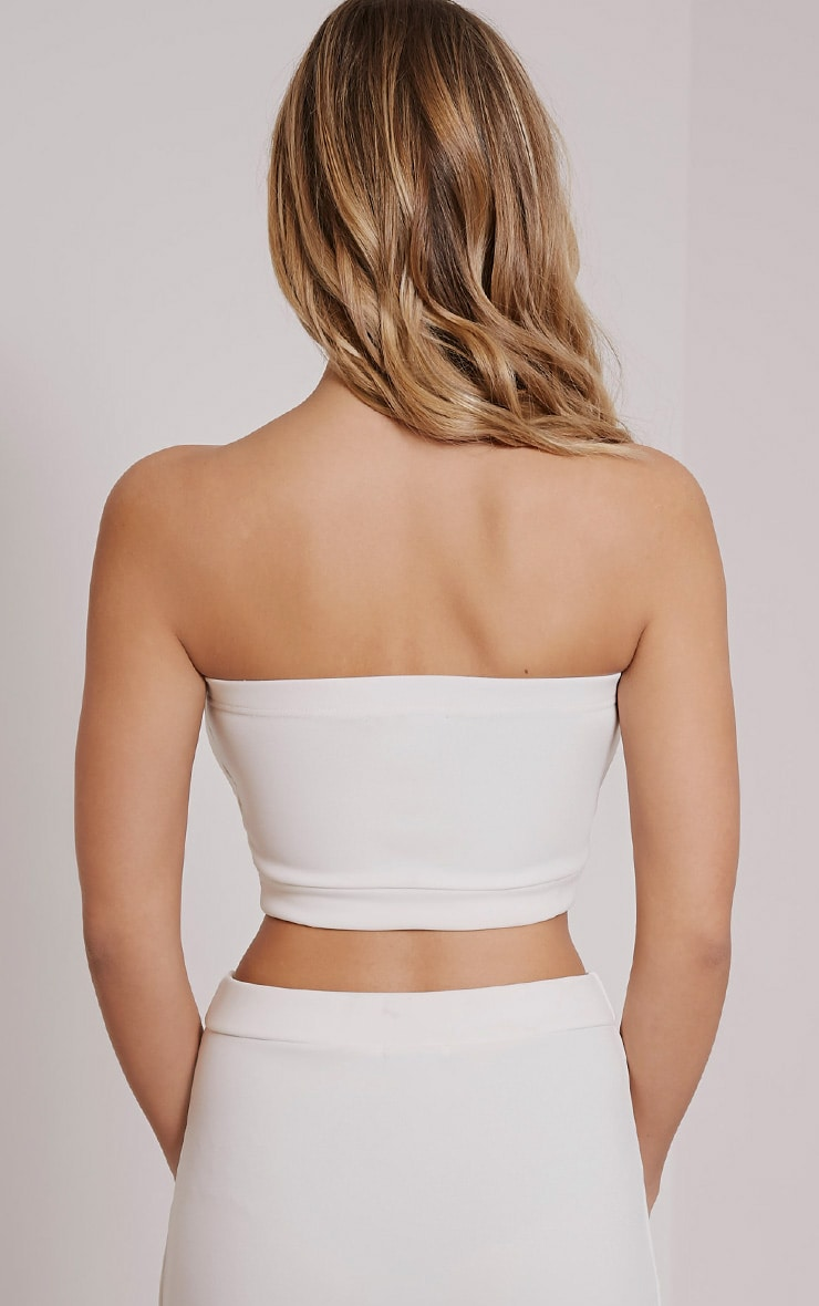 Ella Cream Sweetheart Bralet 2