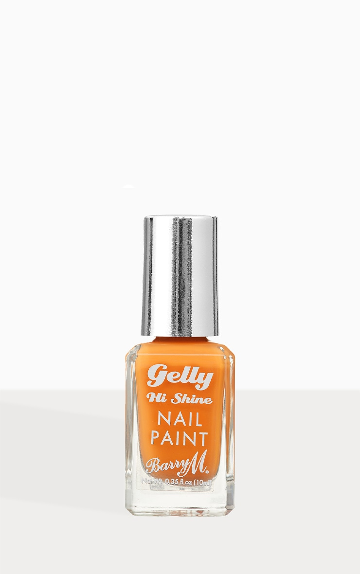 Barry M Gelly Hi Shine Nail Paint Mandarin 1