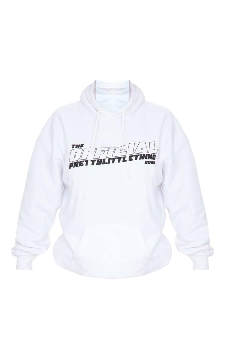 PRETTYLITTLETHING White The Official 2020 Hoodie 5