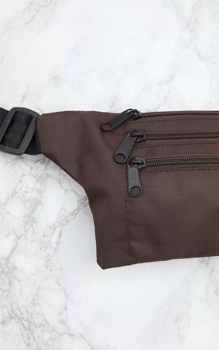 Mocha Flat Bum Bag 4